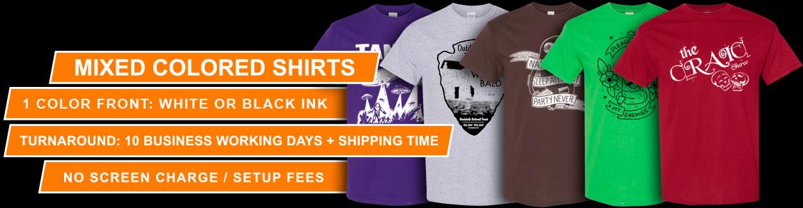 95e893696 Contagious Graphics - Garage Sale T-Shirt Deal!